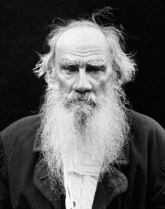 Doesn't Tolstoy have an awesome beard?